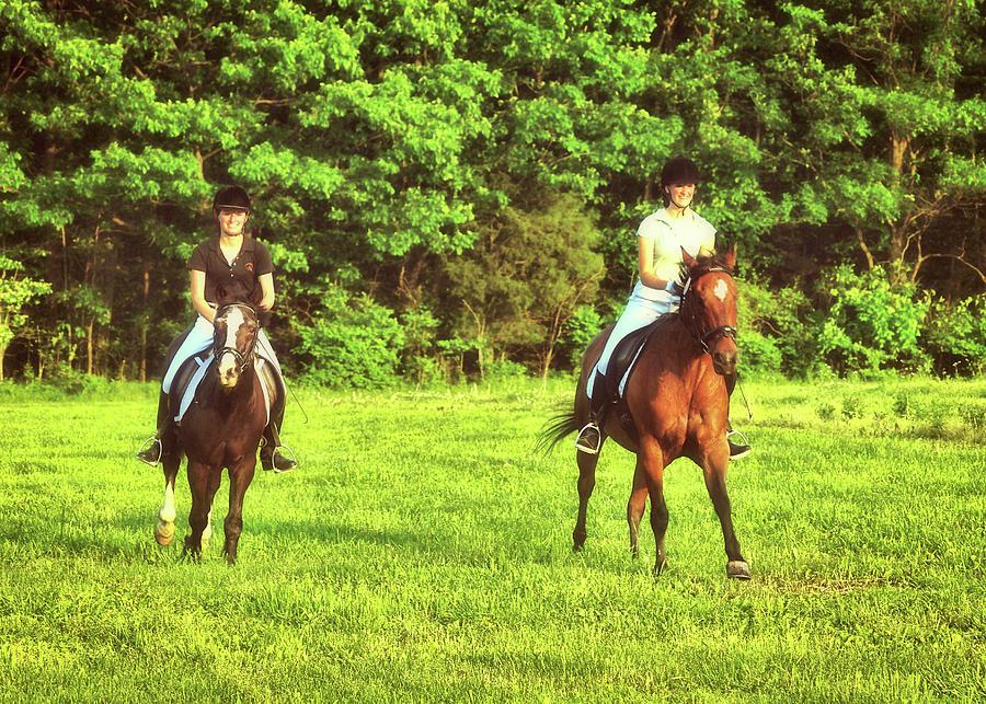 Horse Photograph - Ready Set Go by JAMART Photography