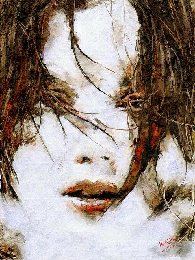 Ready to kiss artwork by James Shepherd