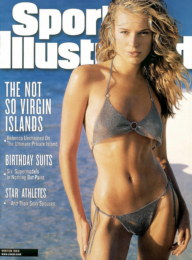 Rebecca Romijn Swimsuit 1999 Sports Illustrated Cover Photograph by Sports Illustrated