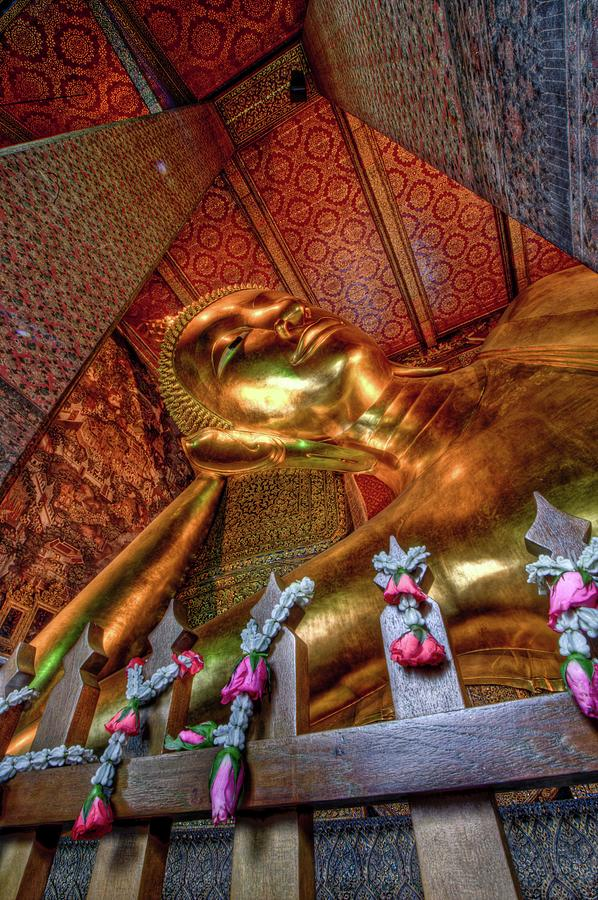 Reclining Buddha At Wat Pho Photograph by Paul Cowell Photography