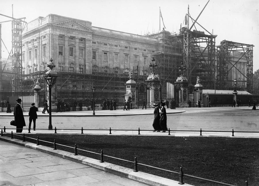 Reconstructing Palace Photograph by Topical Press Agency