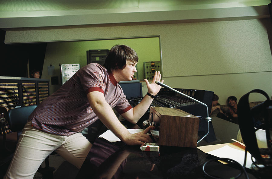Recording Pet Sounds Photograph by Michael Ochs Archives