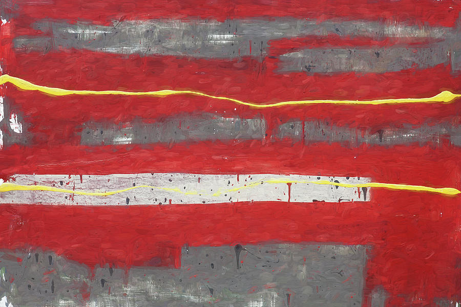 Red Abstract 003 by Rich Franco