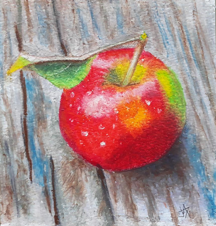 Red Apple by Jacqui Simpson