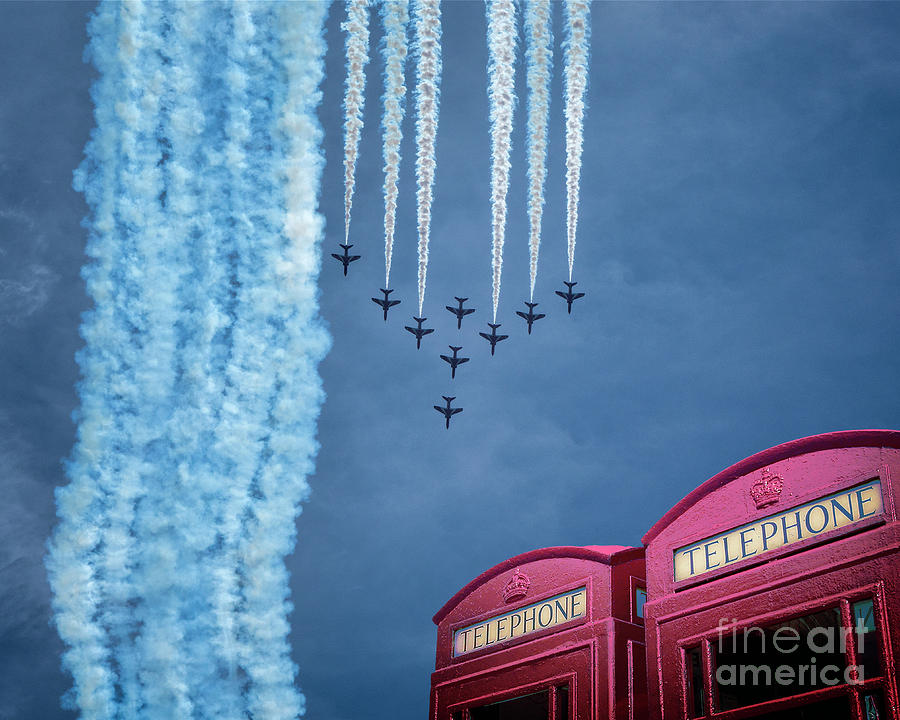 Red Arrows by Edmund Nagele