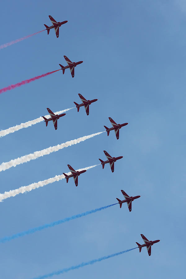 Red Arrows Smoke ON by John Daly