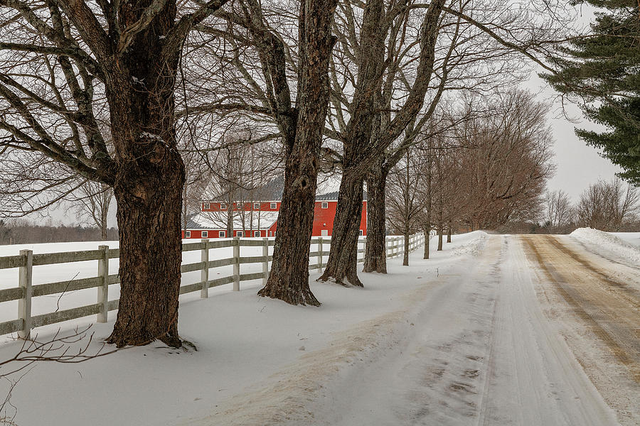Barn Photograph - Red Barn by Bob Doucette