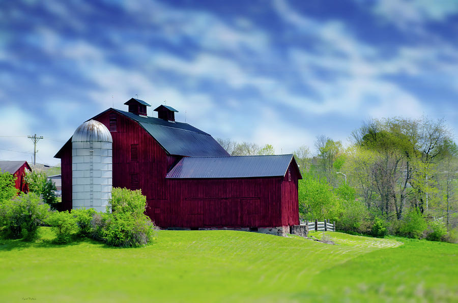 Red Barn by Crystal Wightman
