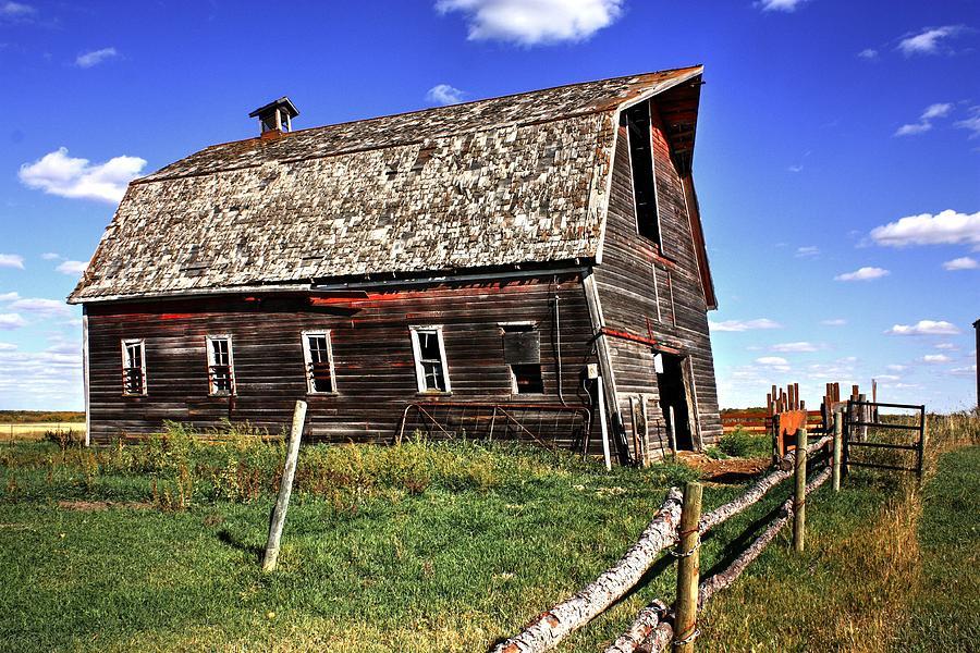 Red Barn  by David Matthews