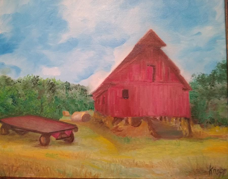 Red Barn by Kathy Knopp