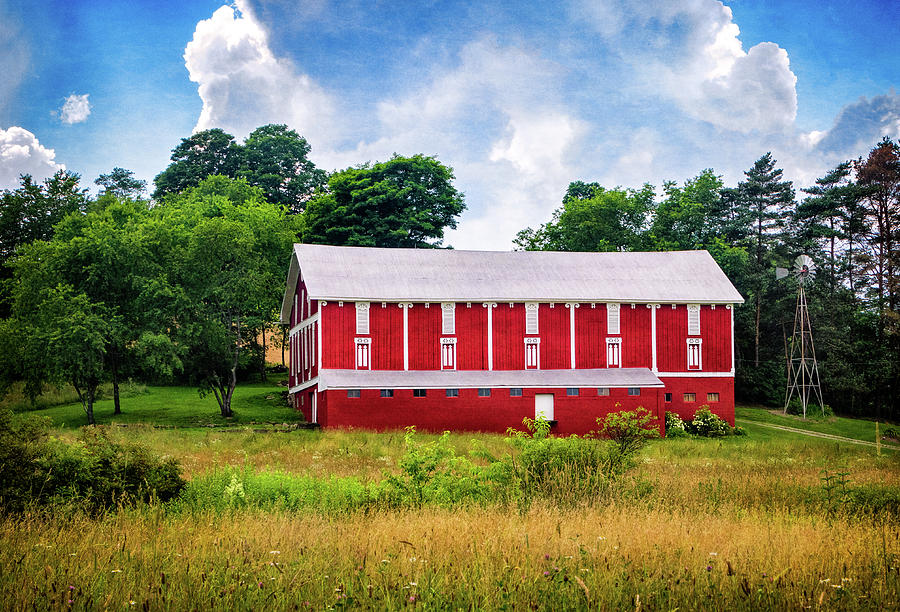 Red Barn near Donegal PA by Carolyn Derstine