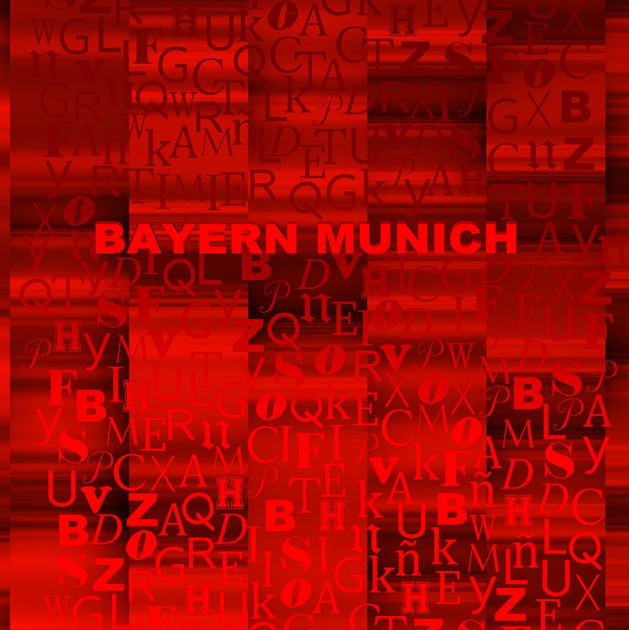 Red Bayern Munich Digital Art