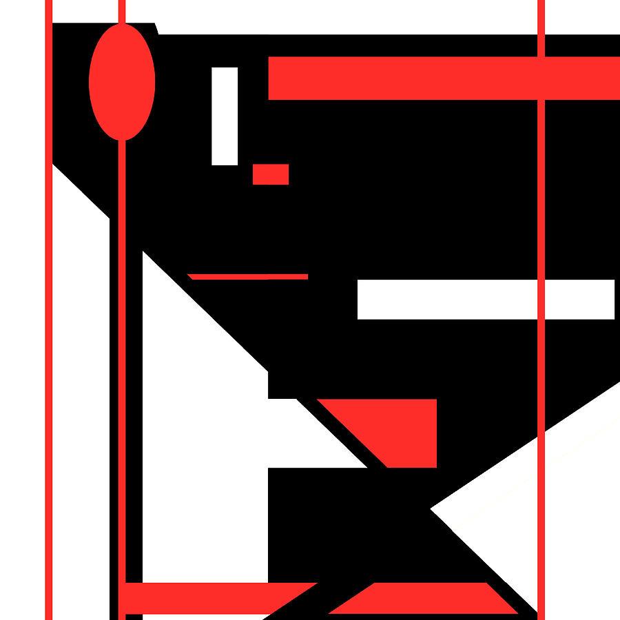 Red Black 013 by Elastic Pixels