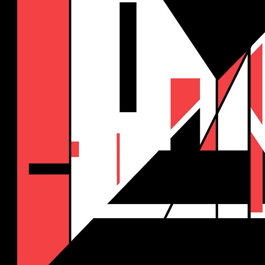 Red Black 019 by Elastic Pixels