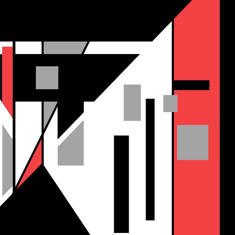 Red Black 020 by Elastic Pixels
