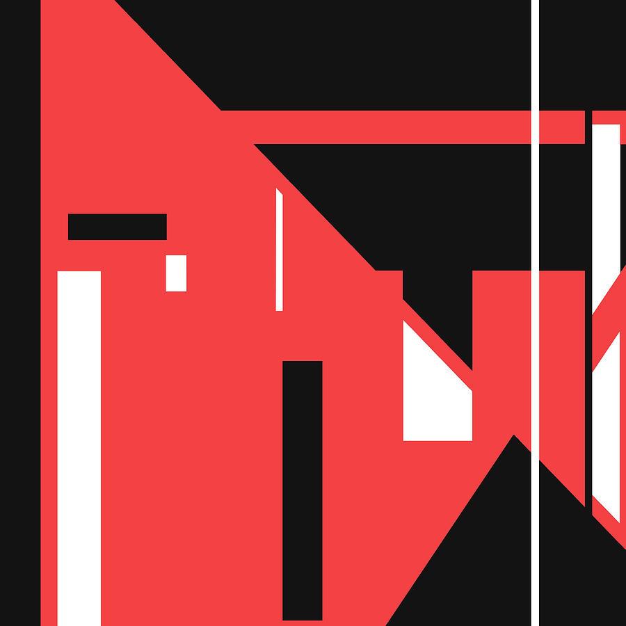 Red Black 021 by Elastic Pixels