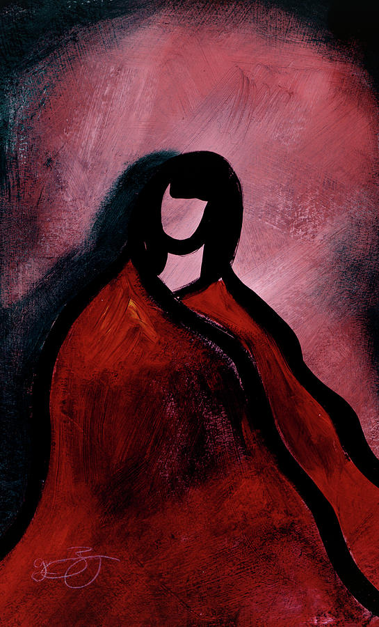 Red Mixed Media - Red Blanket by Lucas Boyd