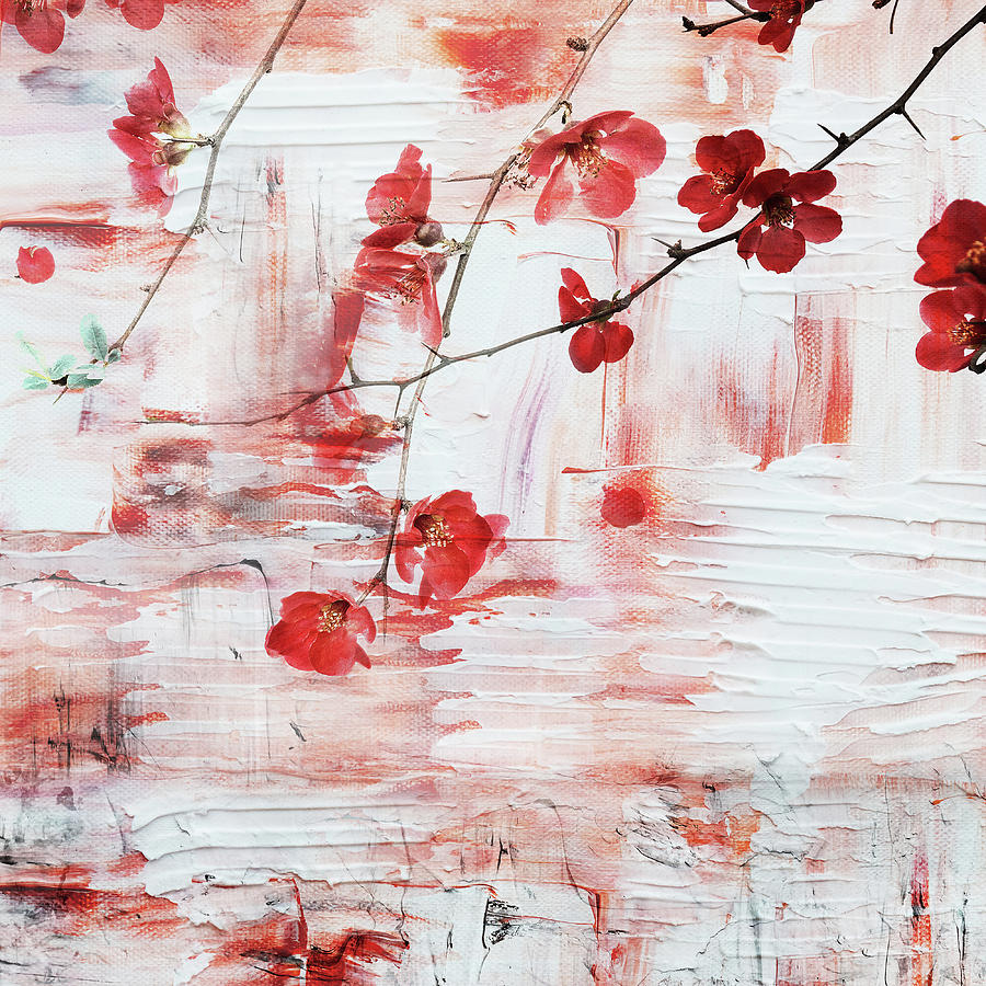 Red Blossom by Jacky Gerritsen