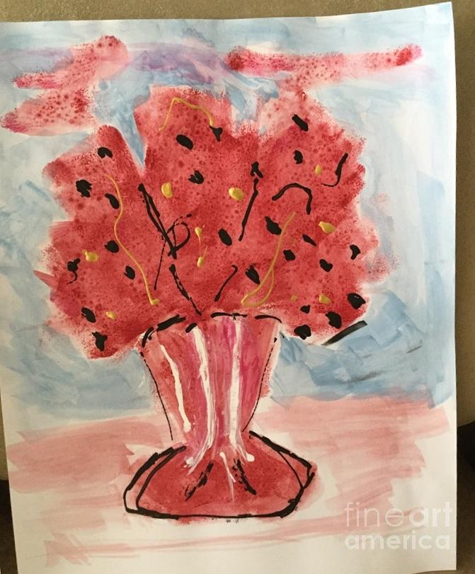Red Bouquet by Joan McArthur