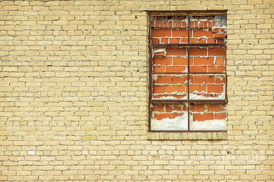 Red Brick Window  by Imagery by Charly
