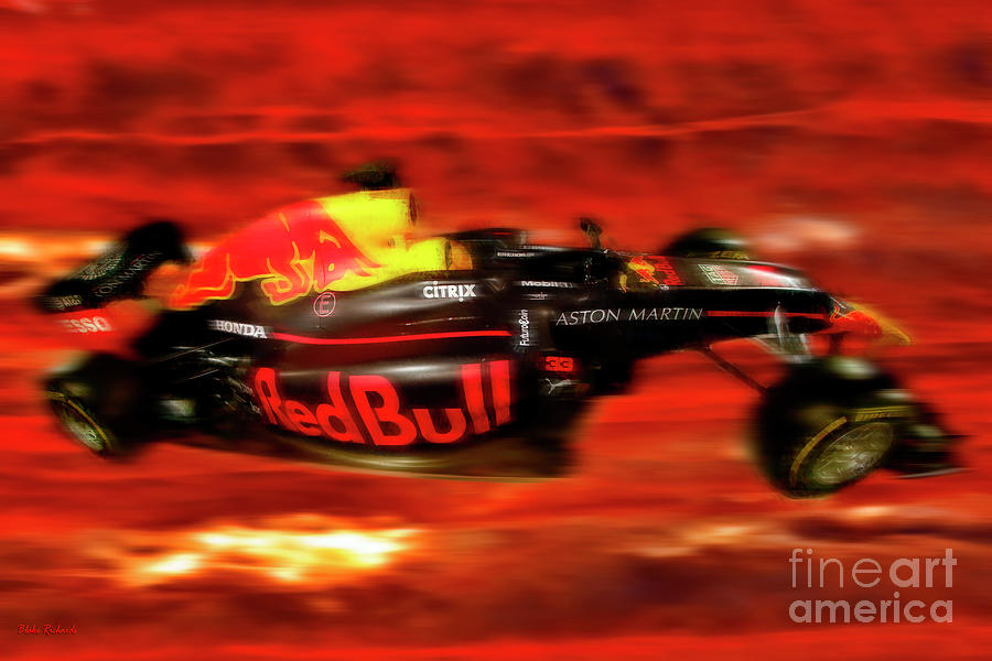 Red Bull Racing Formula One Car by Blake Richards