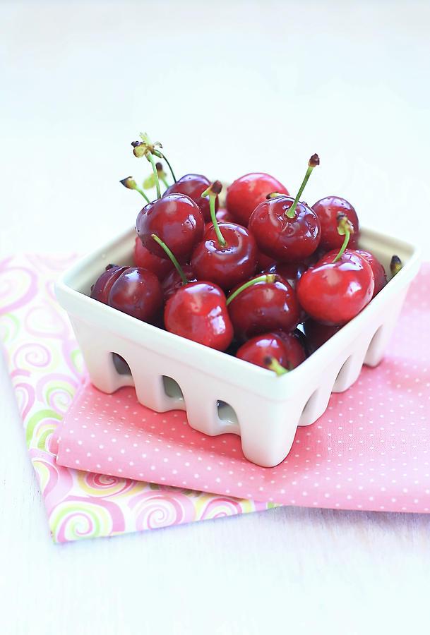 Red Cherries Photograph by Kyoko Hasegawa Photography
