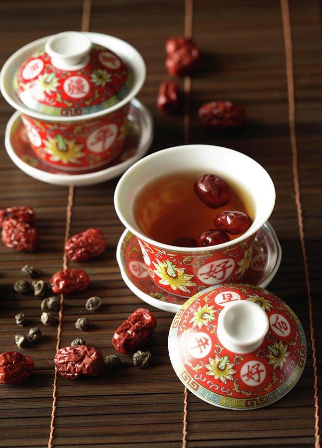 Red Dates Jasmine Tea Photograph by Sce Hwai Phang