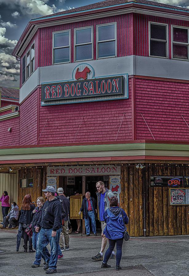 Red Dog Saloon in Juneau Alaska by Darryl Brooks