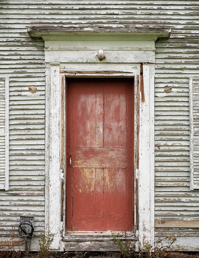 red door by Alan Brown
