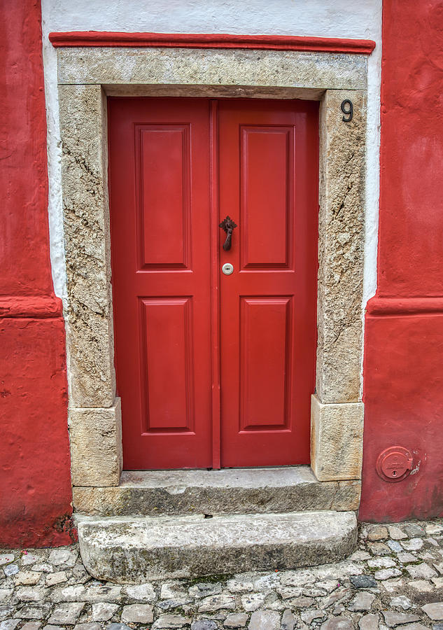 Red Door Nine of Obidos by David Letts