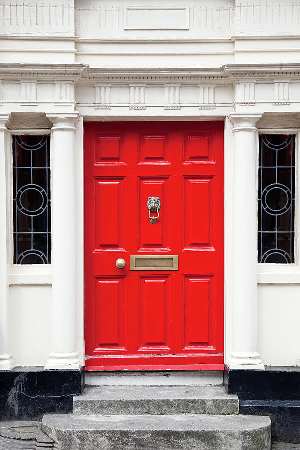 Red Door Photograph by Opla