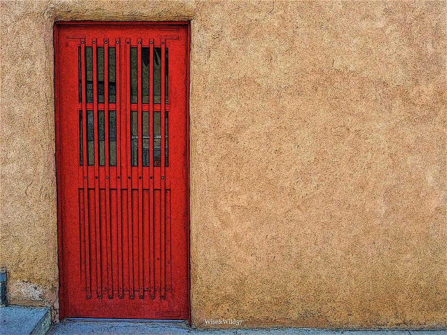 Red Door by WiseWild57