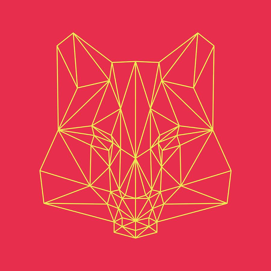 Fox Digital Art - Red Fox by Naxart Studio