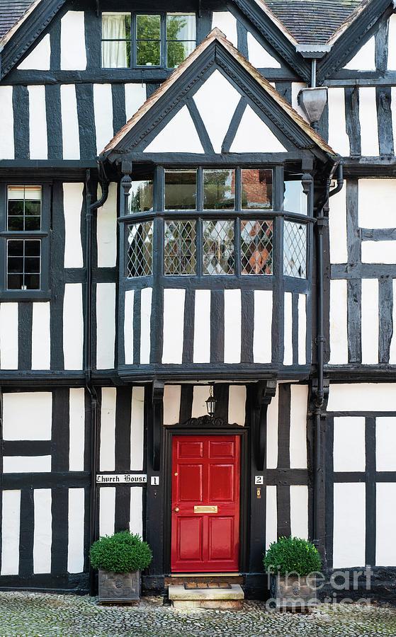 Red Front Door by Tim Gainey