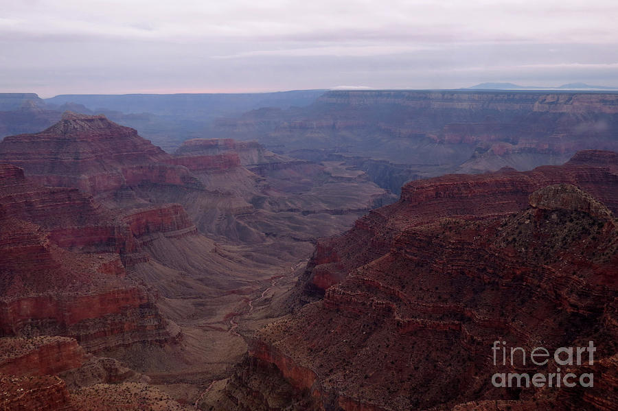 Red Grand Canyon by Mary Mikawoz