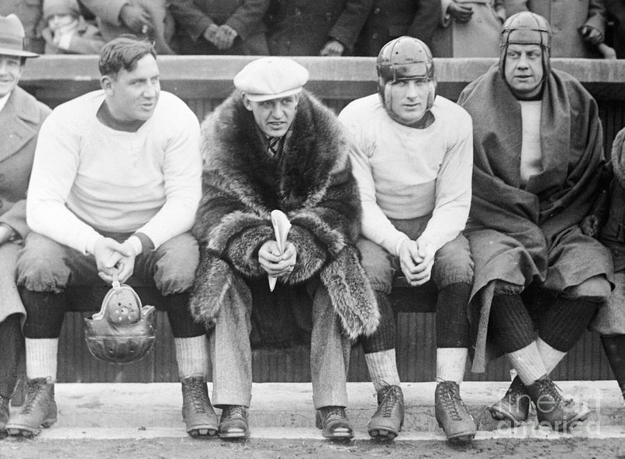 Red Grange Appearing As Professional Photograph by Bettmann
