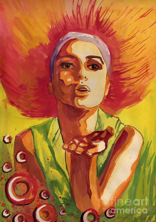 red hair by Katarzyna Bruniewska-Gierczak