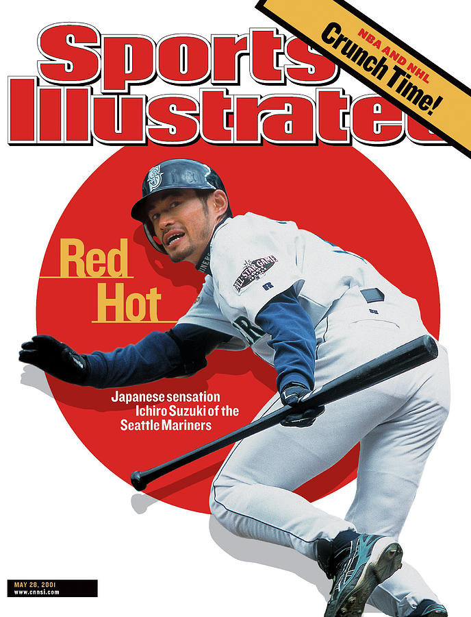 Red Hot Japanese Sensation Ichiro Suzuki Of The Seattle Sports Illustrated Cover Photograph by Sports Illustrated