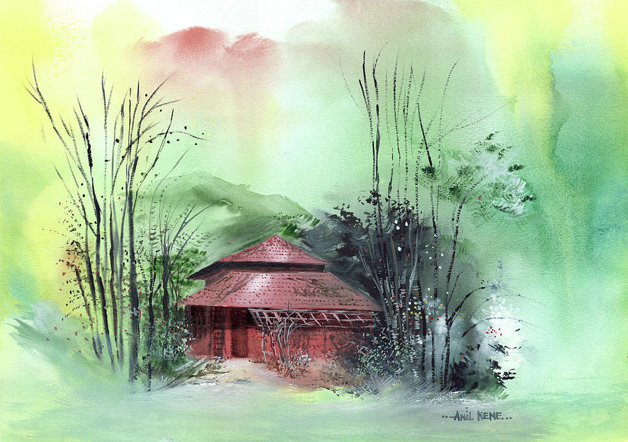 Red House 2 Painting