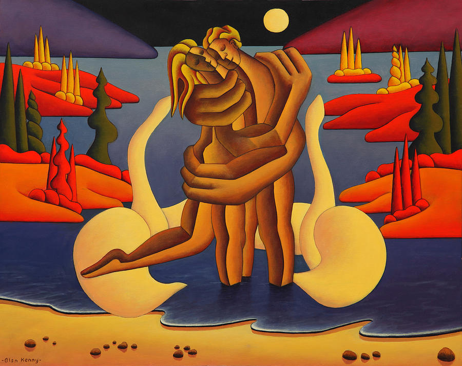 Red Island Lovers  by Alan Kenny