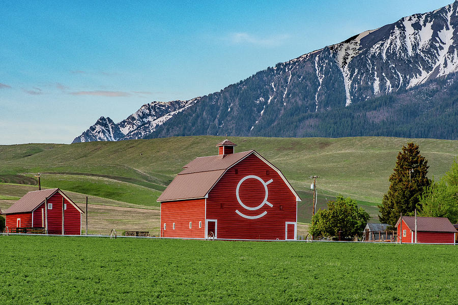 Red Joseph Barn by Matthew Irvin