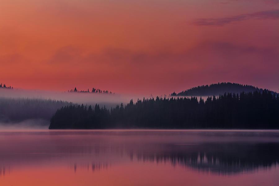 Red Lake by Evgeni Dinev