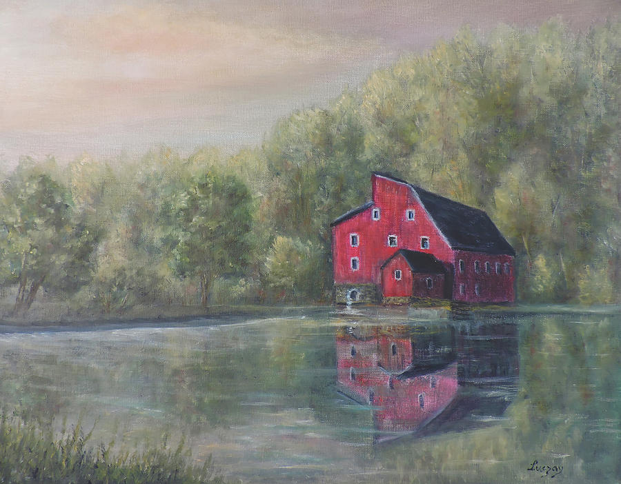 Red Mill Clinton New Jersey by Katalin Luczay