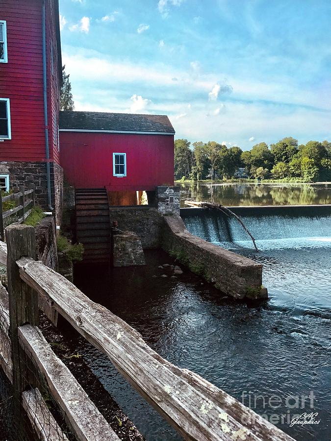 Red Mill Falls by CAC Graphics