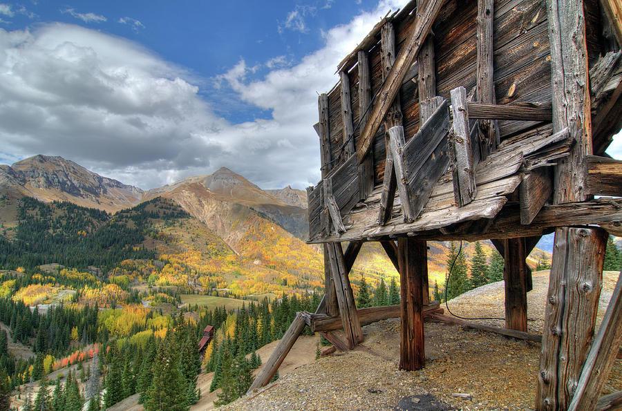 Red Mountain Ore Bin by Steve Stuller