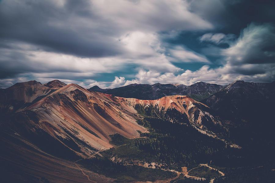 Red Mountains - Long exposure by Mati Krimerman