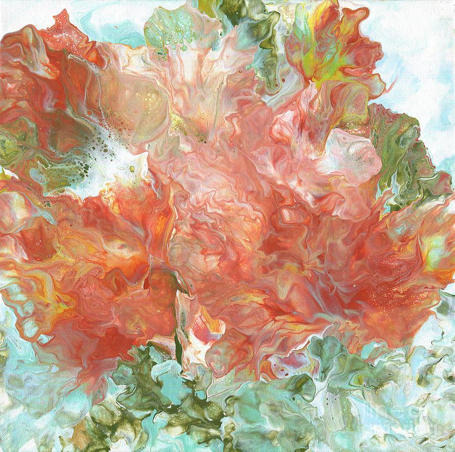 Red Oxide and Aqua by Marlene Book