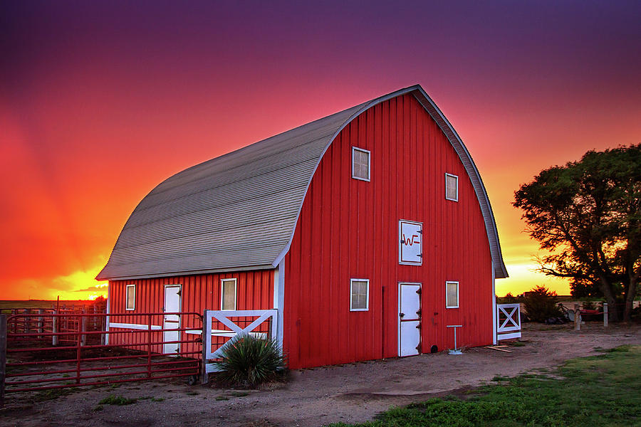 Red Paint by Thomas Zimmerman