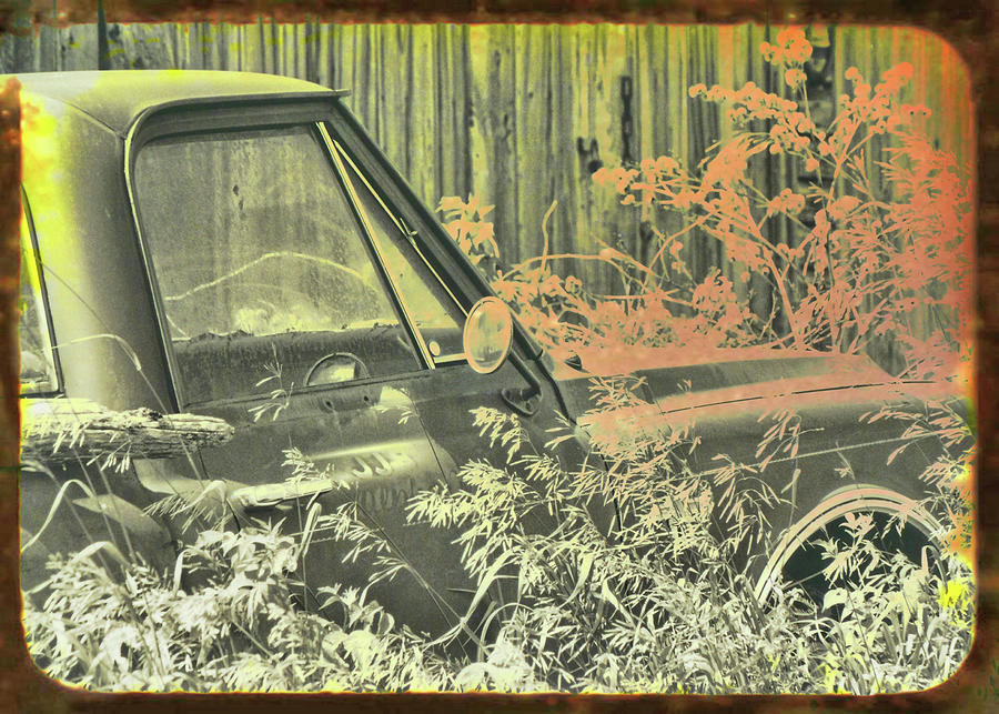 Red Photograph - Red Pickup by JAMART Photography