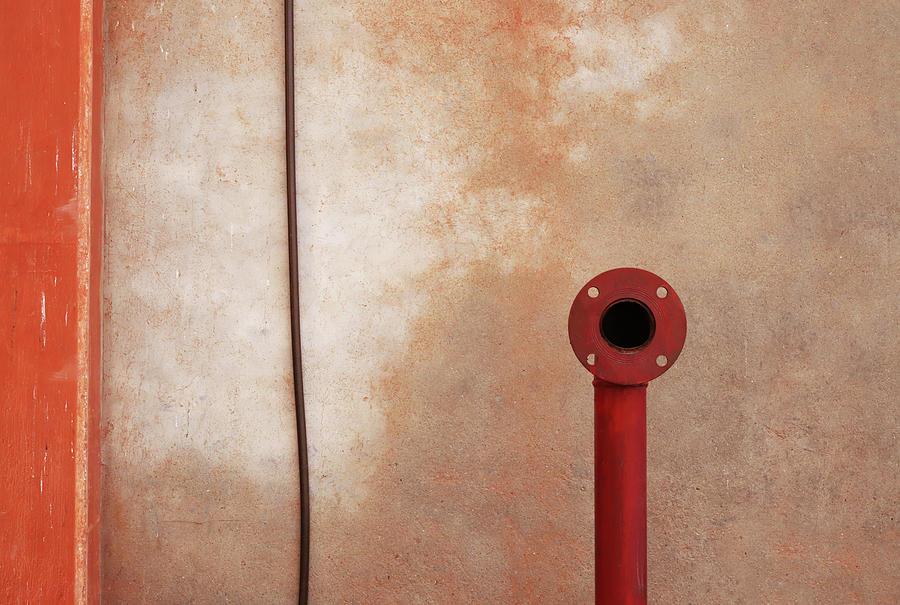 Red Pipe Versus the Wire by Prakash Ghai